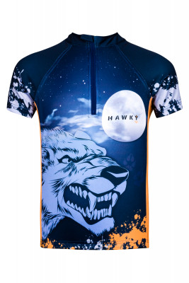 CYCLING JERSEY  FOR CHILDREN - WOLF