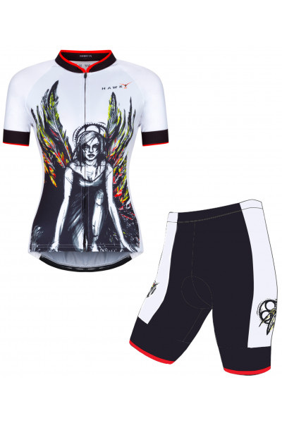 CYCLING SET FOR WOMEN - ROSE