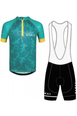 BICYCLE OUTFIT - GREEN LIZARD