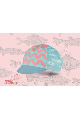 Czapeczka Kolarska Fishy Fish