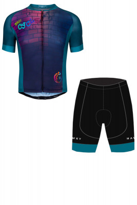 CYCLING SET FOR MAN - CHAMELEON