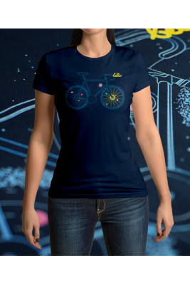 CYCLING T-SHIRT FOR WOMEN UNIVERSE