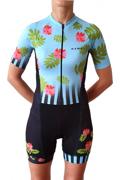 CYCLING SET FOR WOMEN - FLOWERS