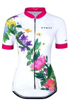 CYCLING JERSEY FOR WOMEN - FLOWER BREEZE