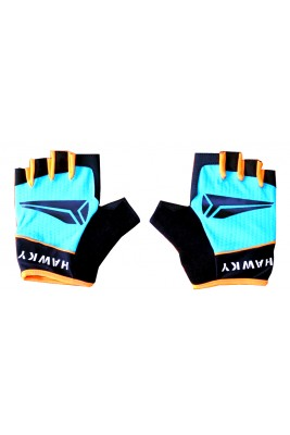 MEN'S CYCLING GLOVES - BLUE BLACK