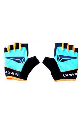 Rękawiczki Rowerowe Męskie Niebieskie