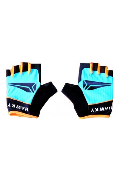 Rękawiczki Rowerowe Niebieskie