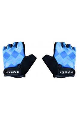 KID'S CYCLING GLOVES - BLUE