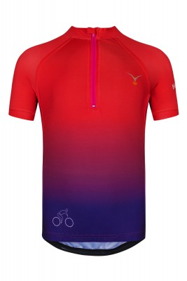 CYCLING JERSEY JUICY PLUM