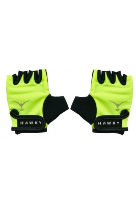 KID'S CYCLING GLOVES - BRIGHT GREEN