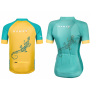 Cycling Jersey Cheerful Pinapple