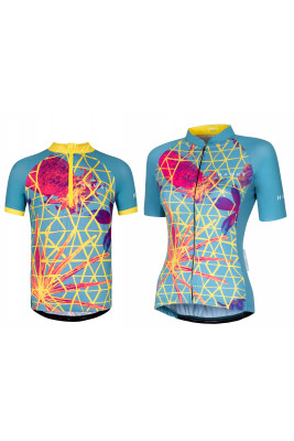 CYCLING JERSEY CRAZY PINEAPPLE