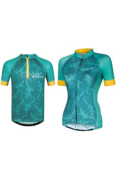 Cycling Jersey Cheerful Pinapple