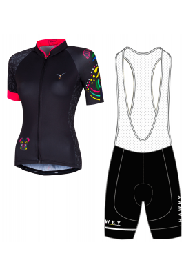CYCLING JERSEY FOR WOMEN - ROSE